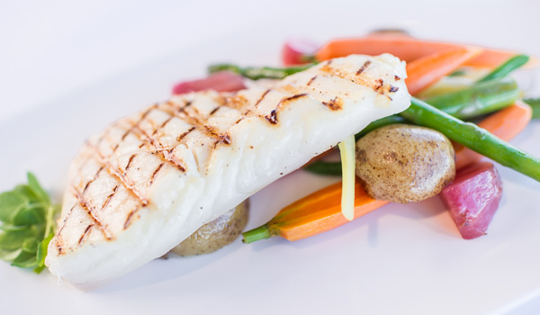 Butter Poached Halibut Fillet